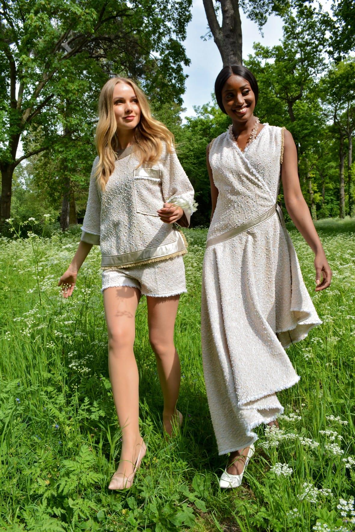 Spring-summer fashion collection by the Parisian designer Erik Schaix.