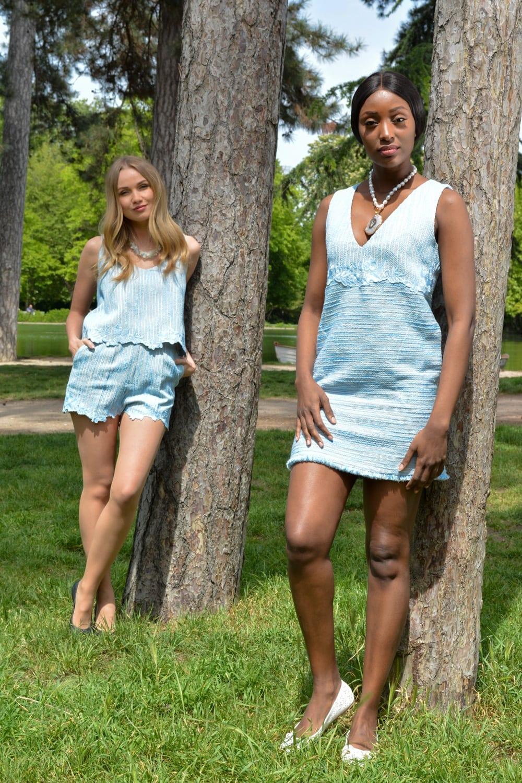 Spring - Summer ready-to-wear collection by the Parisian stylist Erik Schaix.