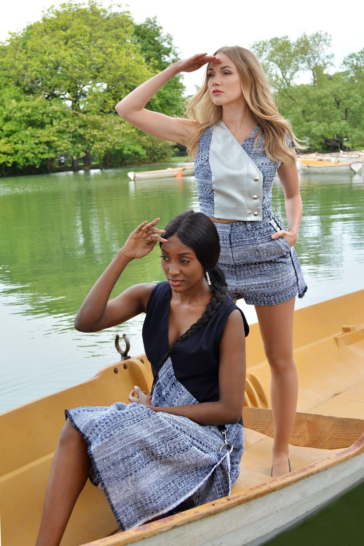 Spring-summer ready-to-wear collection by the famous fashion designer Erik Schaix Paris.