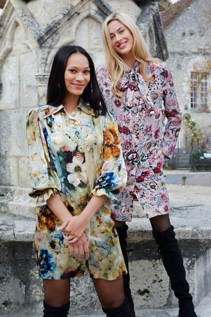 Collection prêt-à-porter femme hiver 2020. Erik Schaix Fashion Designer Paris.